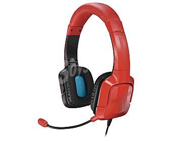 Tritton Auriculares estéreo con micrófono, color rojo, compatible con Playstation 4, Kama 1 unidad