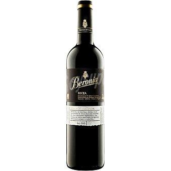 Beronia Vino tinto crianza Edición Limitada D.O. Rioja Botella 75 cl