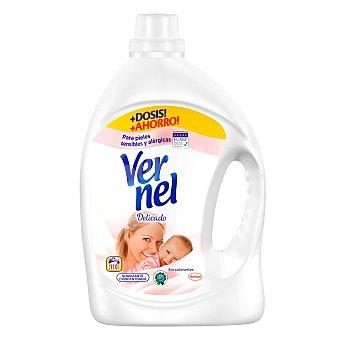 Vernel Suavizante concentrado Delicado para pieles sensibles y alergicas Botella 110 dosis
