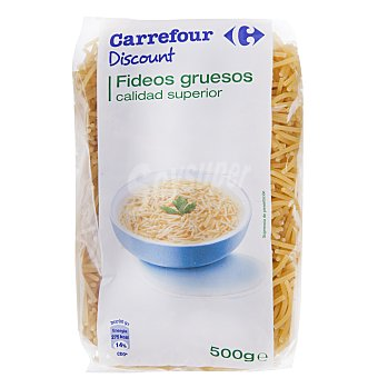 Carrefour Fideo grueso 500 g