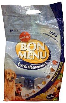 Bon Menu Affinity Comida perro croqueta receta mediterranea  Paquete 4250 g