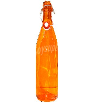 Carrefour Home Botella limonada pintado naranja 1 litro