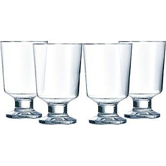 LUMINARC Mekano Vasos de vidrio Fa 33 cl set de 4 unidades 33 cl