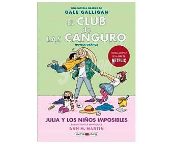Maeva El club de las canguro, Julia y los niños imposibles, raina telgemeier. Género infantil. Editorial Maeva.
