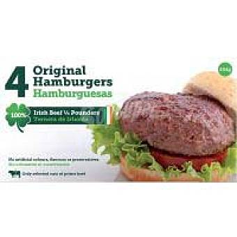 DAWN MEAT Hamburguesas Quarter Pounders Bandeja 454 g