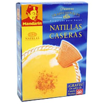 Mandarin Natillas caseras Caja 80 g