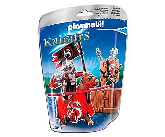 Playmobil Figura Knights, El caballero de torneo de la Orden del Dragón, modelo 5358 de 1 unidad