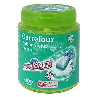 Carrefour Chicles sin azúcar 100 unidades