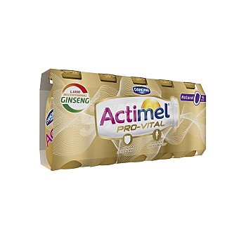 Danone Actimel Provital Natural 0% con ginseng Pack 5 unidades de 100 ml