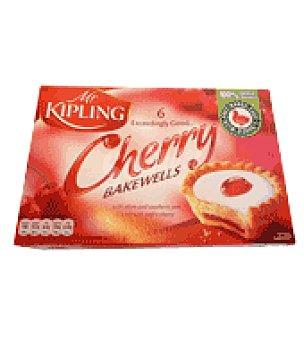 Mr Kipling Tartitas Rellenas de Fruta y Cerezas 245 g
