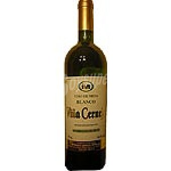 VIÑA CERNEJA Vino blanco nacional Botella 75 cl