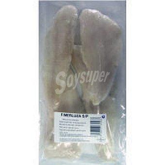 Mundifres Filete de merluza sin piel Bolsa 550 g