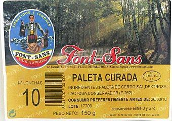 FONT SANT Paleta Serrana 150 Gramos
