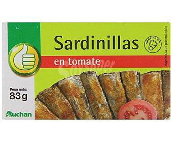 PRODUCTO ECONÓMICO Sardinillas En Tomate 6/10 Piezas ALCAMPO58 Gramos