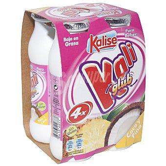 Kalise Kali Glup piña-coco Pack 4x200 g