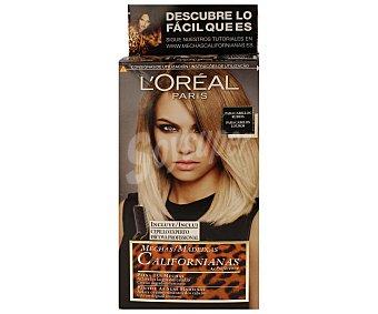 Recital Preference L'Oréal Paris Mechas Californianas de Rubio a Rubio Oscuro 1 ud