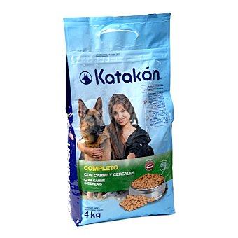 Katakán Alimento completo con carnes y cereales bolsa de 4 kg
