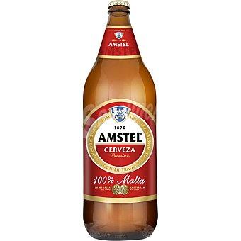 Amstel Cerveza rubia nacional pilsener Botella 110 cl
