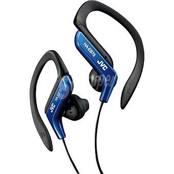 Jvc Auriculares Deportivos de botón en color azul HA-EB75-A-E  1 Unidad
