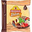 Sweets wraps dulces con sabor a dulce de leche sin aceite de palma Paquete 6 unidades Mission