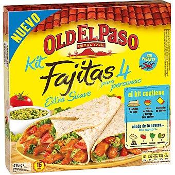 Old el Paso Fajita kit extra suave sin picante Estuche 476 g