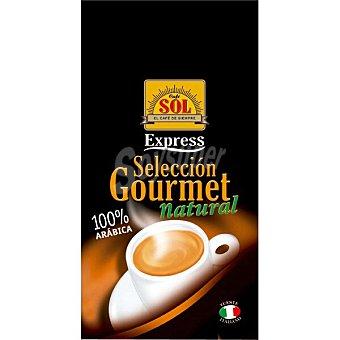 Sol Selección Gourmet café natural en grano Paquete 1 kg