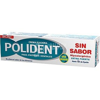 Polident Crema fijadora para prótesis dentales sin zinc 40 g