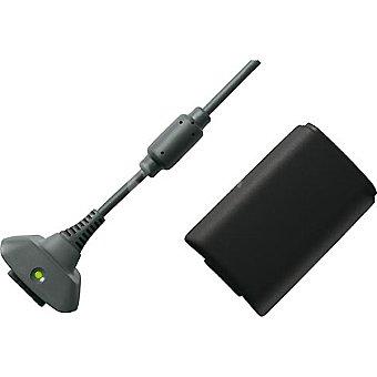 XBOX 360 Batería y cable de carga  1 unidad