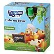 Compota de manzana Carrefour Kids Pack de 4 unidades de 90 g Carrefour Kids