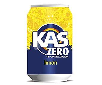 Kas Refresco de limón zero Lata de 33 Centilitros