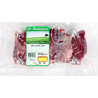 LA MONTAÑERA Carrillada de cerdo al vacio peso aproximado 1 kg