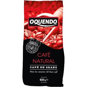 Oquendo Cafe natural en grano Paquete 500 g