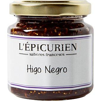 L'epicurien Mermelada de higo negro creación artesanal Frasco 125 g