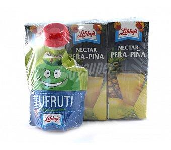 Libby's Zumo de pera y piña Pack 3x20 cl
