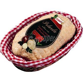 COREN pularda rellena con castañas, nueces y macadamia peso aproximado bandeja 1,  5 kg