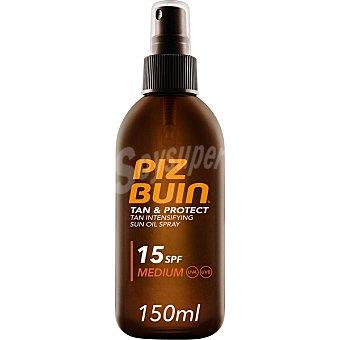 Piz buin Tan & Protect aceite corporal intensificador de bronceo SPF-15 Spray 150 ml