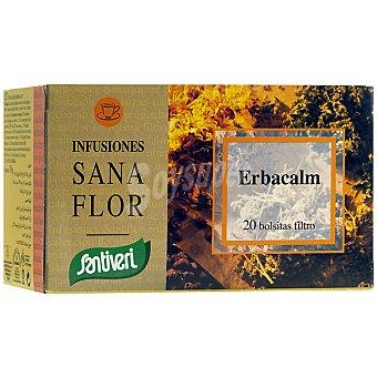 SANTIVERI SANAFLOR Infusión de plantas medicinales relajante Envase 20 unidades