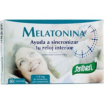 Santiveri melatonina ayuda al sueño estuche 60 comprimidos