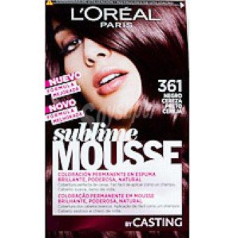 Sublime L'Oréal Paris Tinte negro cereza N.361 Caja 1 unid