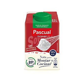 Pascual Nata líquida para montar y cocinar UHT 35% M.G Envase 500 ml