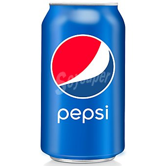 Pepsi Refresco de cola Lata 33 cl