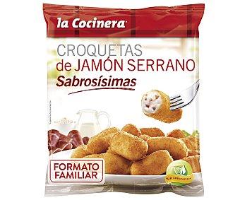 La Cocinera Croquetas de jamón serrano 800 g