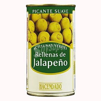 Hacendado Aceituna rellena jalapeño (picante) Lata 350 g escurrido 150 g