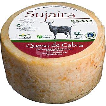 SUJAIRA Queso curado de cabra ecológico peso aproximado pieza 1,1 kg
