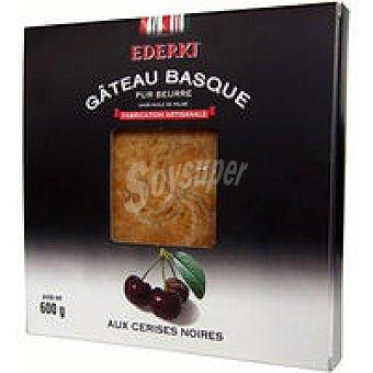 Pastel vasco con cerezas negras - label Eguzkia- ederki