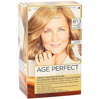 Excellence L'Oréal Paris Tinte castaño clarísimo dorado Age Perfect nº6 1/2.3 crema color en matices Caja 1 unidad