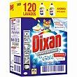 Detergente gel Pack 2x60 dosis Dixan