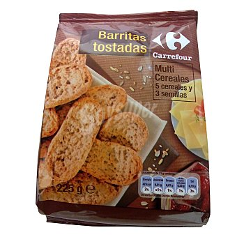 Carrefour Panecillos multicereales 225 g