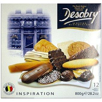 DESOBRY Inspiration Galletas surtidas Estuche 800 g