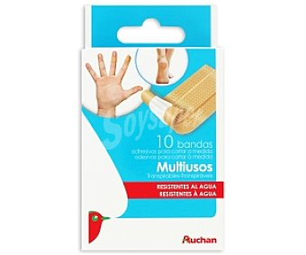 Auchan Bandas Multiusos 10 Unidades